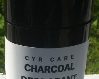 Natural deodorant-charcoal deodorant-organic deodorant