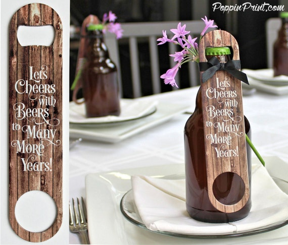 Items Similar To Wedding Favors Wood Beer Bottle Opener