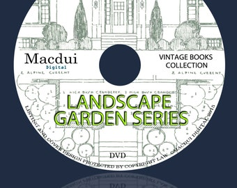 Landscape Garden Series – Vintage E-books 10 Volumes PDF on 1 DVD Gardening