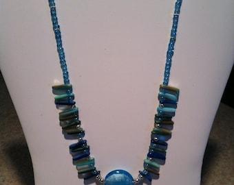 Fun glass bead necklace
