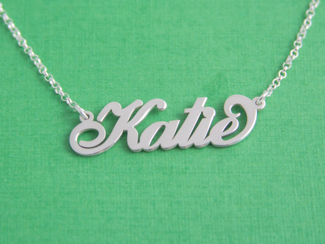 child name necklace small name necklaces personalized