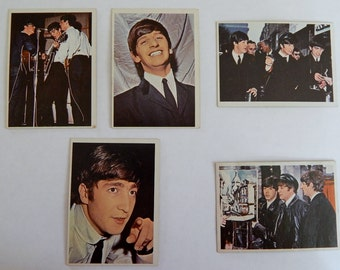 Beatles Diary Trading Cards