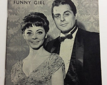 Funny Girl Play Bill, Broadway Theatre, Magazine for Theatre Goers