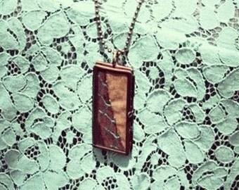 Vintage Quilt Necklace