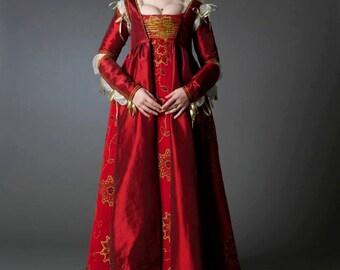 Lucrezia Borgia Renaissance Dress