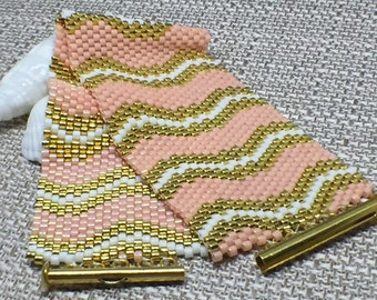 Coral Waves Bracelet