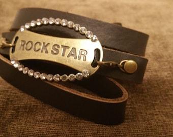 Rockstar wrap bracelet