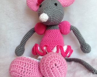 Ballerina Mouse Pink