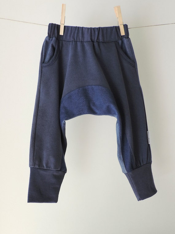 SALE, Blue Harem Pants, Boy And Girls Harem Pants, Toddler Baggy Pants, Hipster Pants, Trendy Kids, Toddlers Pants, Kids Fashion trousers