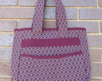 Shoulder Bag: Leeba Maroon