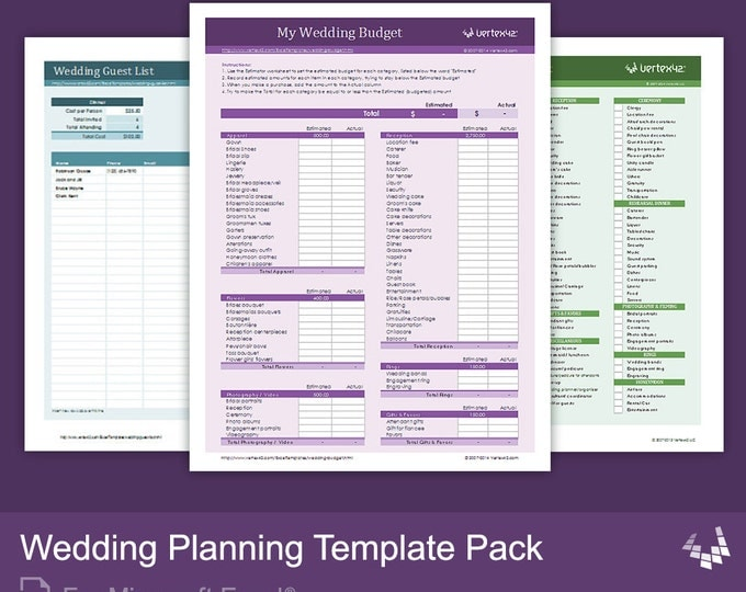 Wedding Planning Timeline Template Excel