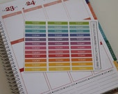 Today - Header Stickers | Set of 36 | Perfect for Erin Condren Planners