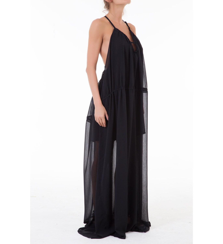 Sheer Dress Maxi Dress Summer Dess Beach Wedding Boho