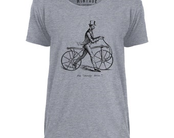 Mintage The Dandy Bicycle Mens Scoop Neck T-Shirt