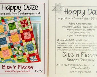 "Bits 'n Pieces ~ ""Happy Daze""  #1030"