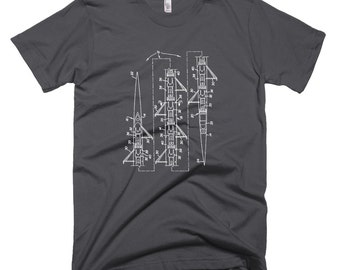 8 Man Rowing Scull T-shirt