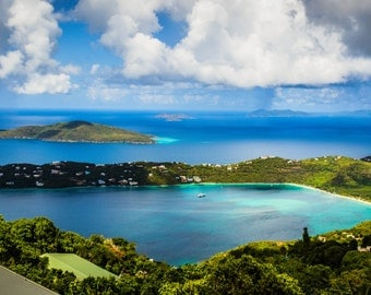The View from Mountain Top - St. Thomas, USVI