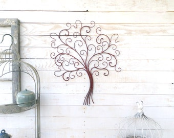 Iron Tree, Wall Decor, Home Decor, For the Home, Customize