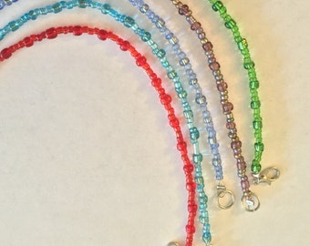 Five Piece Adjustable Customizable Bracelet Set
