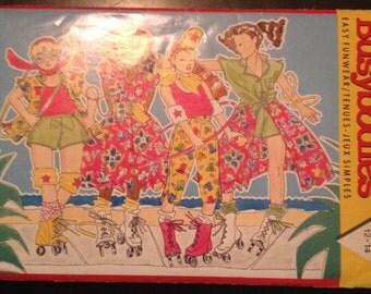 Busybodies 3799 Sz 12-14 Girls Shirt, Tank Top, Skirt & Pants Uncut