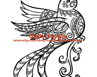bird coloring page for adults birds adult coloring pages