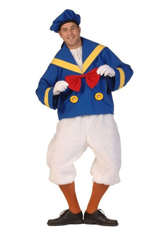Donald Duck / Sailor Duck Costume by FantasyWorldYork on Etsy