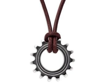 Bike Cog Pendant
