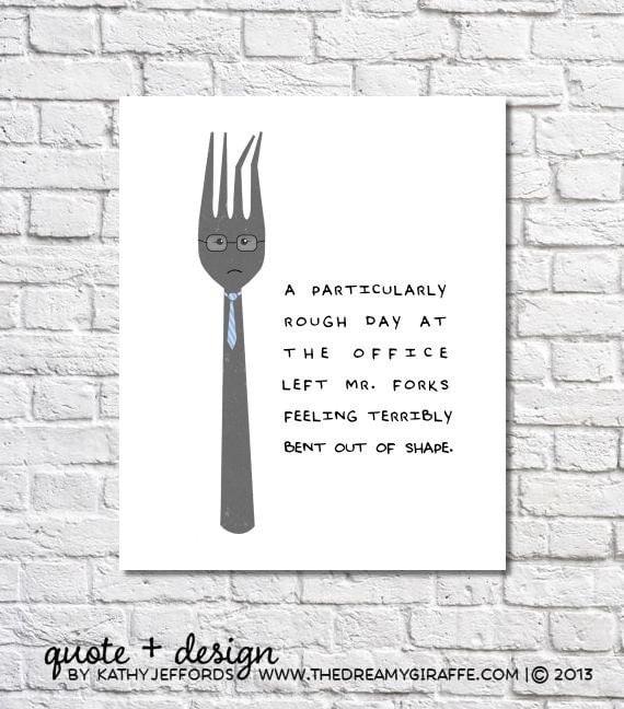 Quirky Kitchen Artwork