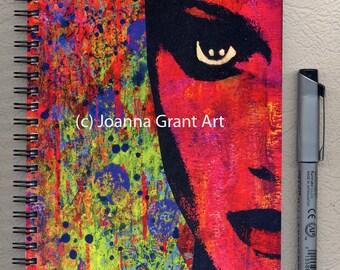 MOD Inspirational Mixed Media Art Journal Notebook