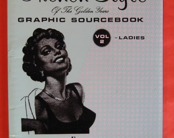 French Style of the Golden Years: Graphic Sourcebook Vol. 2 Ladies