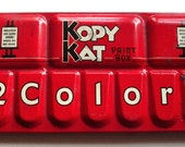 Kopy Kat antique paint box-1950's great artist gift!