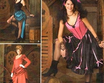 Simplicity 2851 Dance Hall Saloon Madam Costume Size 14, 16, 18, 20  ANDREA SCHEWE©2008