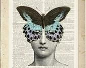 Butterlfy no. 2, Lina Cavalieri print