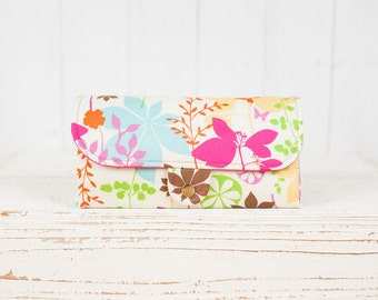 SmartPhone Purse 12x - Ultimate Wallet Clutch with ID pocket / Celebration of Summer Colors -- Ready to Ship