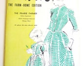 Vintage Sewing Pattern Mail Order Fashion Catalog Booklet Prairie Farmer From 1948 - ORIGINAL