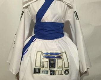 R2D2 Kimono Dress