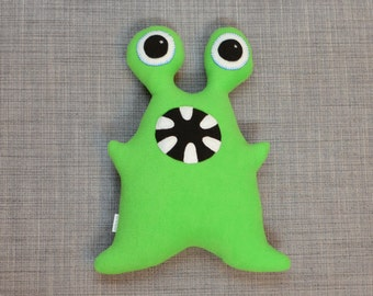 Green Plush Monster, Alex