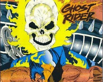Issue 70 WOLVERINE and GHOST RIDER Marvel Comics Presents Series Comic Book
