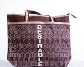 NOS 1970's Canvas Tote Bag