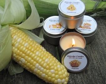 CORNY SAMPLER (four 2-oz soy candles)