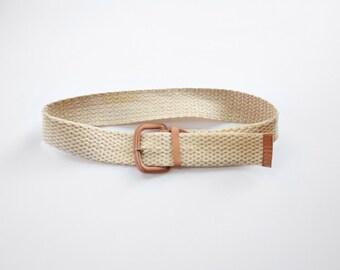 70s/80s Adjustable Rope Belt