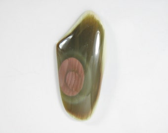 Beautiful Royal Imperial jasper cabochon, natural stone, large free form cab, designer cabochon, artisan cab, handcut USA