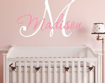 Custom Personalized Name Vinyl Wall Decal Sticker