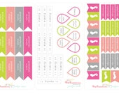 Pregnancy Planner Stickers, Pregnancy Journal Stickers, Baby Book Stickers