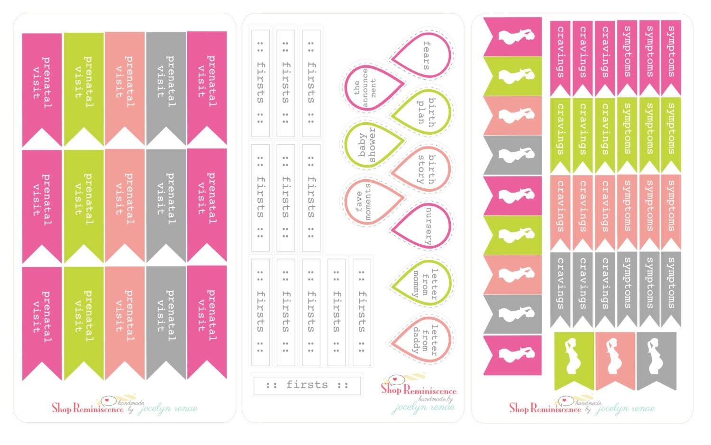 pregnancy journal templates