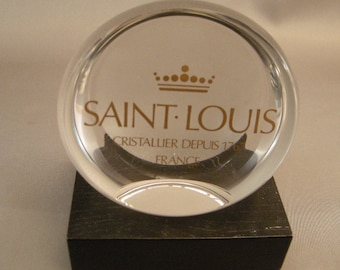 Paperweights, St. Louis  Paperweights, Saint Louis France Crystal, Paperweights, St. Louis Items, Elegant Crystal Paperweights
