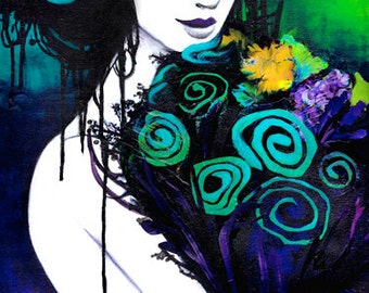 READY TO SHIP: Limited Edition, Flora the Goddess of Flowers Canvas Reproduction 4 of 10