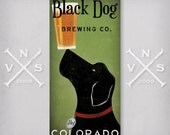 CUSTOM Personalized Dog  Brewing Company STRETCHED CANVAS Wall Art  Ready-To-Hang