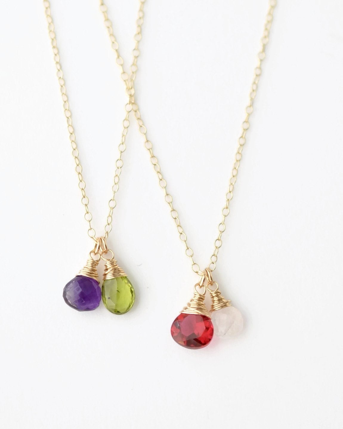 Mothers Birthstone Necklace / Mothers Jewelry / by ...