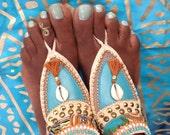 Sahara Dance- Tribal barefoot sandals
